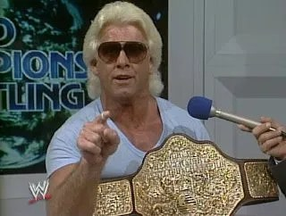 flair and big gold belt