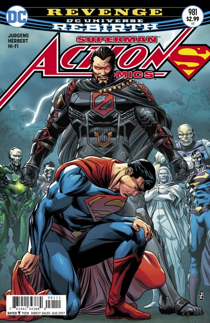 Action Comics #981 cover