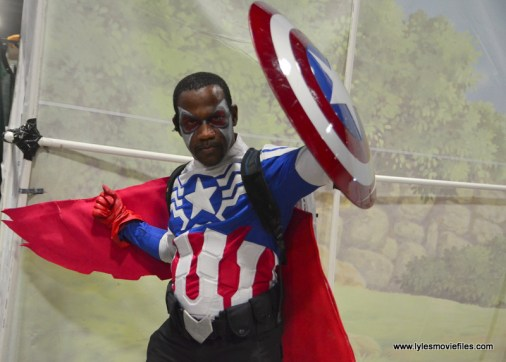 Awesome Con 2017 Day 2 cosplay - Captain America Falcon