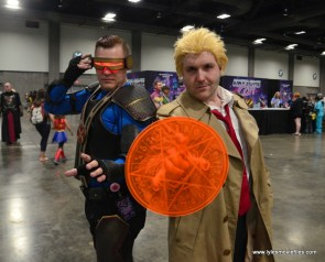 Awesome Con 2017 Day 2 cosplay - Cyclops and Constantine
