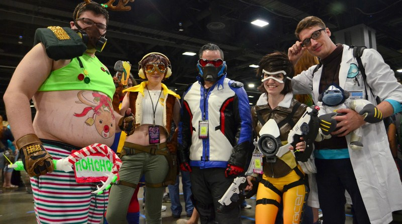 Awesome Con 2017 Day 2 cosplay -Overwatch crew