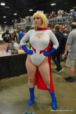 Awesome Con 2017 Day 2 cosplay - Power Girl 2
