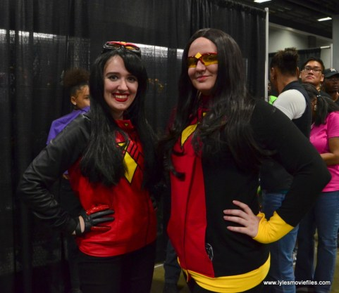 Awesome Con 2017 Day 2 cosplay - Spider-Women