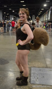Awesome Con 2017 Day 2 cosplay -Squirrel Girl 2