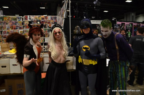 Awesome Con 2017 Day 2 cosplay - Squirrel Girl, Batman and The Joker