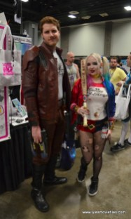 Awesome Con 2017 Day 2 cosplay -Star-Lord and Harley Quinn