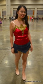 Awesome Con 2017 Day 2 cosplay - Wonder Woman