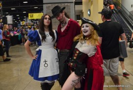 Awesome Con 2017 Day 2 cosplay - snazzy trio