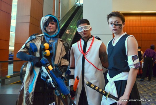 Awesome Con 2017 Day 2 cosplay -triple threat