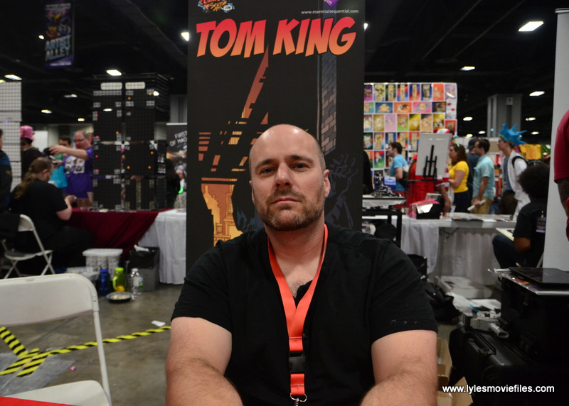 Awesome Con 2017 Tom King