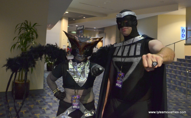 Awesome Con 2017 cosplay Friday -Blackest Night Hawkgirl and Black Hand