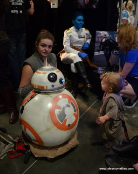 Awesome Con 2017 cosplay Friday -Rey and BB-8