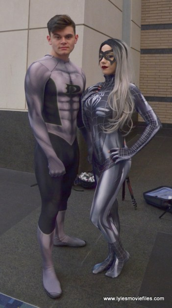 Awesome Con 2017 cosplay Friday - symbiote Danny Rand and Black Cat 2