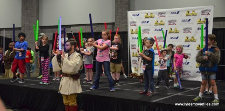 Awesome Con 2017 lightsaber training 2