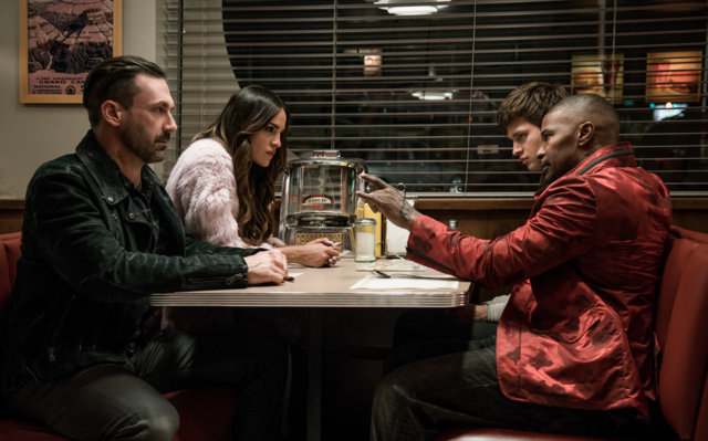 Baby Driver review - Buddy, Darling, Baby and Bats