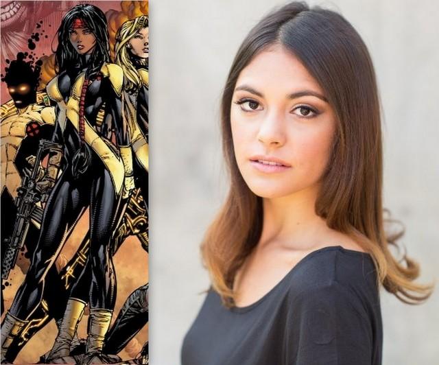 Blu Hunt as Danielle Moonstar New Mutants