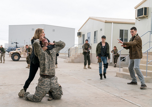 Fear the Walking Dead Eye of the Beholder review - Madison, Troy and Jake