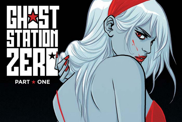 Ghost Station Zero #1 cover B - Copy