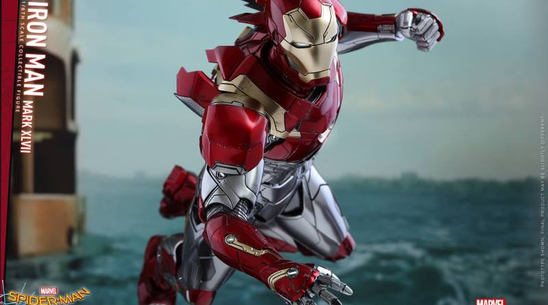 Hot Toys Iron Man Mark 47 figure - main