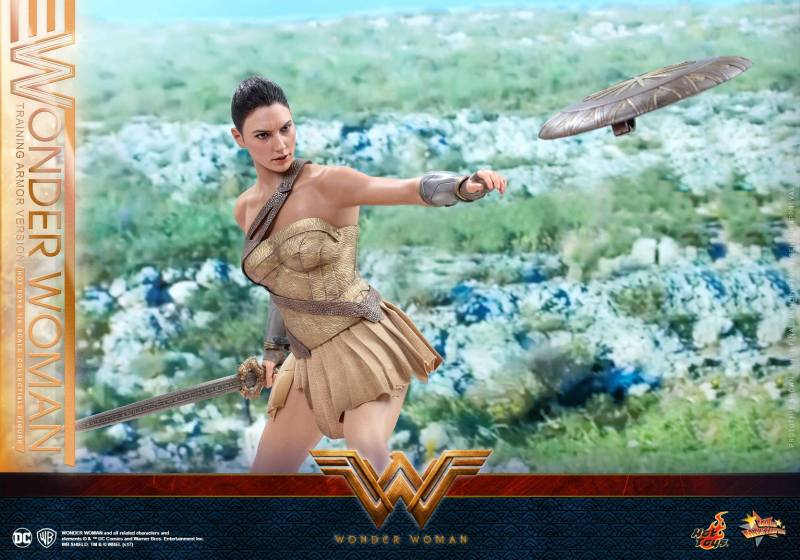 Hot Toys Wonder Woman Training Armor Version -throwing shield