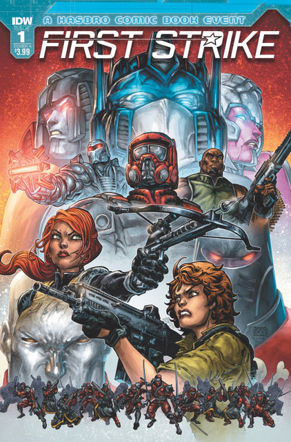 IDW First Strike cover