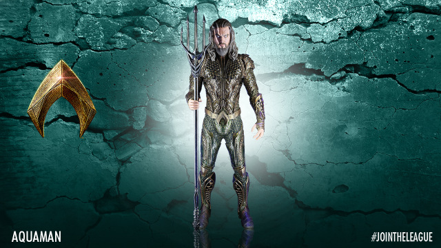 Justice League Aquaman costume design