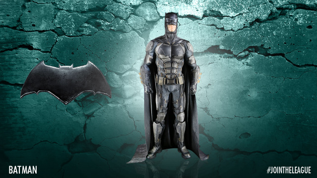 Justice League Batman costume design