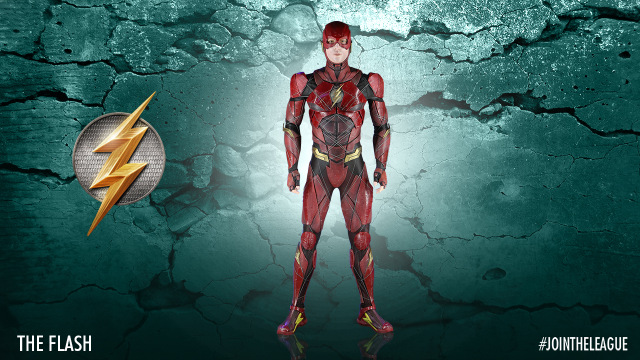 Justice League The Flash costume design