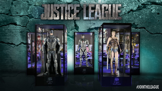 Justice League costume design