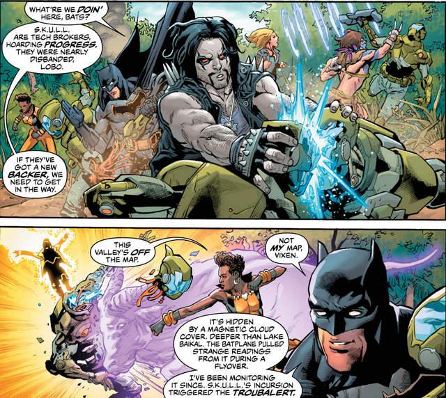 Justice League of America #8 interior art