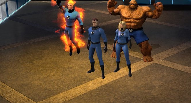 Marvel Heroes Fantastic Four leaving because of Fox