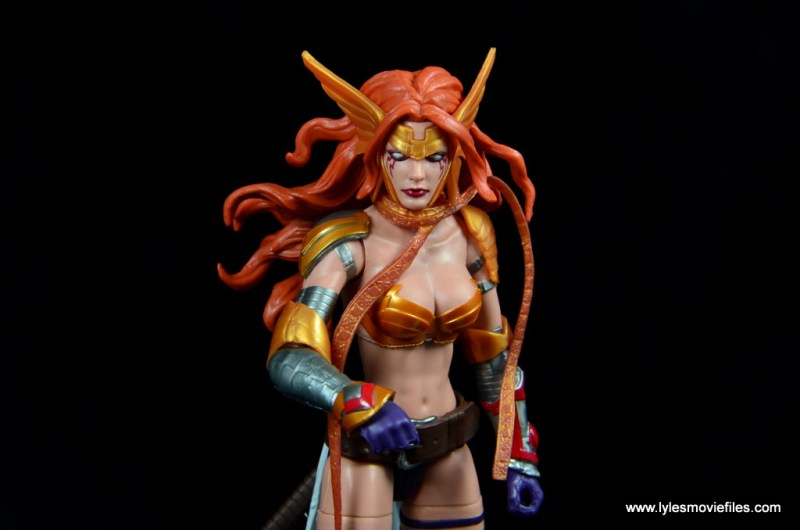 Marvel Legends Angela figure review -coming forward
