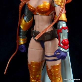 Marvel Legends Angela figure review -left gauntlet detail