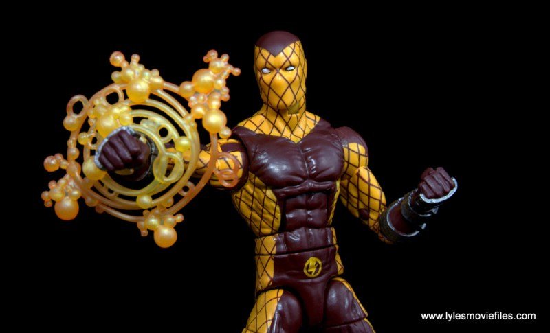 Marvel Legends Shocker figure review - aiming