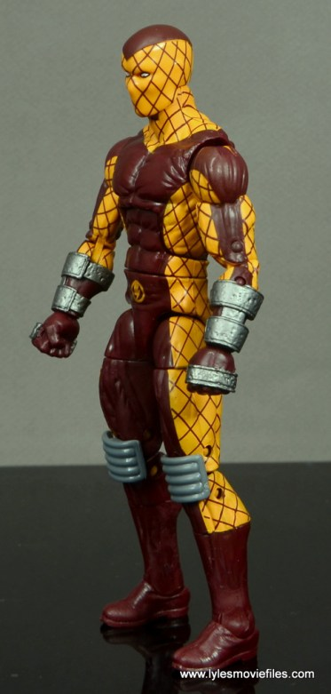 Marvel Legends Shocker figure review -left side