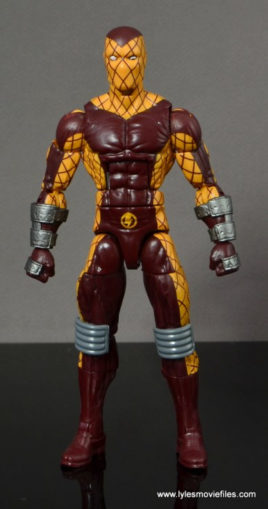 Marvel Legends Shocker figure review -straight