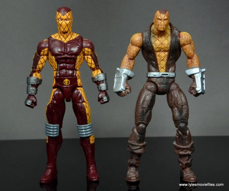 Marvel Legends Shocker figure review - with Toy Biz Shocker