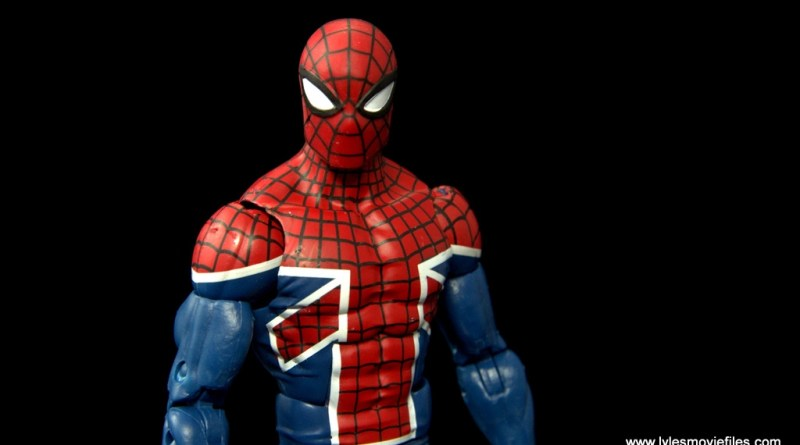 Marvel Legends Spider-Man UK figure review - main pic