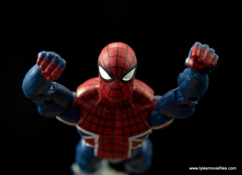 Marvel Legends Spider-Man UK figure review - straight at you