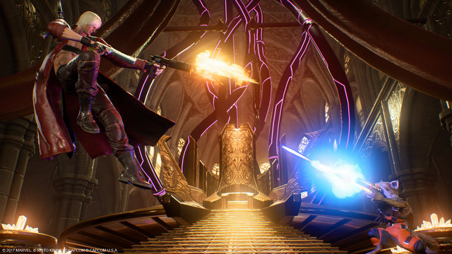 Marvel vs Capcom Infinite Dante vs Rocket