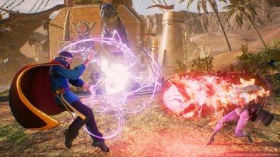 Marvel vs Capcom Infinite Doctor Strange vs Morrigan