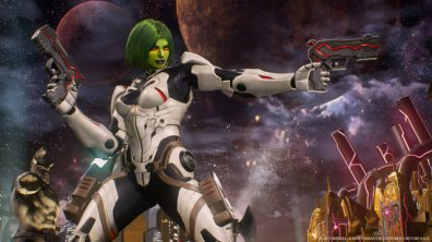 Marvel vs Capcom Infinite Gamora character screen