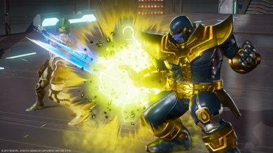 Marvel vs Capcom Infinite Gamora vs Thanos