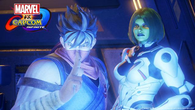 Marvel vs Capcom Infinite Strider and Gamora