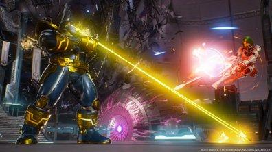 Marvel vs Capcom Infinite Thanos vs Gamora