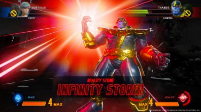 Marvel vs Capcom Infinite Thanos with Infinity Stone