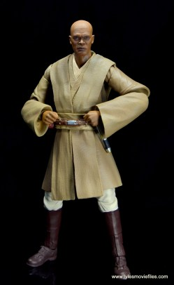 SH Figuarts Mace Windu figure review - hands on hips