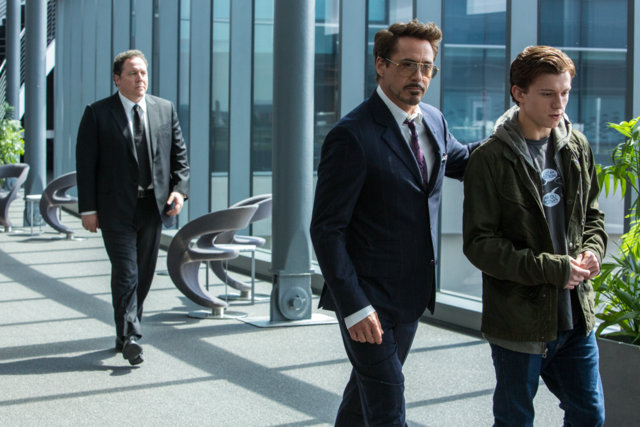 Spider-Man: Homecoming - Happy, Tony Stark and Peter Parker