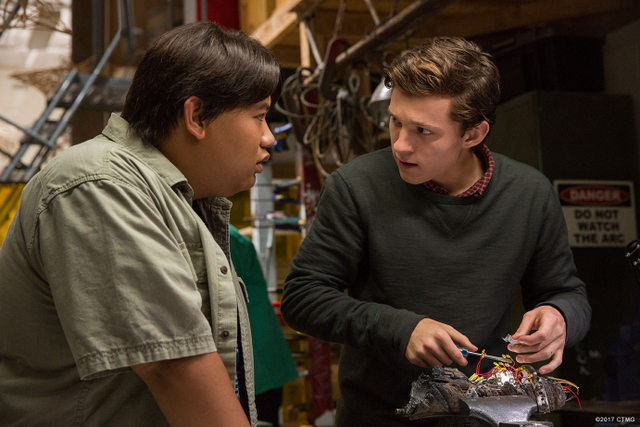 Spider-Man: Homecoming - Ned and Peter