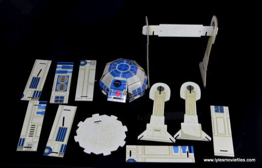Star Wars Builders Droids set - R2D2 parts